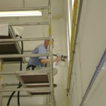 Wandafwerking bedrijfshal 2012